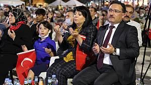 Asırlık Destanın 5. Yılında Vali Çiçek'in Katılımıyla Demokrasi Nöbeti Tutuldu