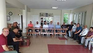 SULTANDAĞI BELEDİYESİNDE BAYRAMLAŞMA PROGRAMI DÜZENLENDİ..
