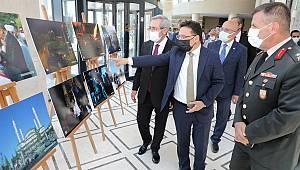 Vali Çiçek, 15 Temmuz Şehitlerini Anma Demokrasi ve Milli Birlik Günü Adlı Sergiyi Açtı, Konferansa Katıldı