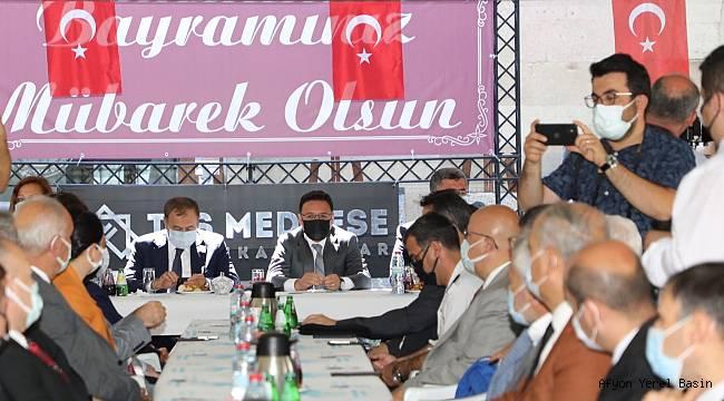 VALİLİK BAYRAMLAŞMA PROGRAMI TAŞ MEDRESE'DE YAPILDI..