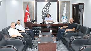 Yol ve Ulaşım Hizmetleri Müdürü Karakoç'tan Başkan Sarı'ya Ziyaret