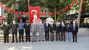 Dinar'da 30 Ağustos Zafer Bayramı 99. Yılında Coşkuyla Kutlandı