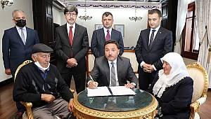 Hayırsever Desteğiyle Emirdağ İlçesine Yapılacak Fidan-Ali Altıntaş Anaokulu için Protokol İmzalandı