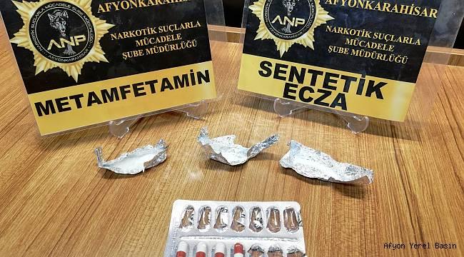 Metanfetamin Maddesi Ele Geçirildi