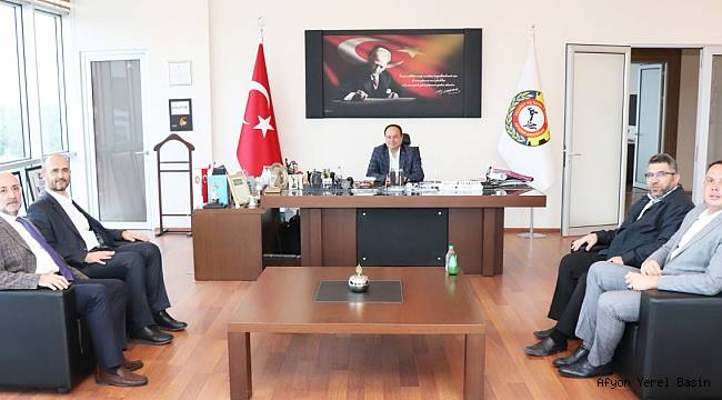 TÜRK KIZILAY AFYONKARAHİSAR ŞUBESİ'NDEN SERTESER'E ZİYARET