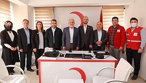 Türk Kızılay Genel Başkanı Kerem Kınık Afyonkarahisar'da