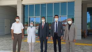 Uzm.Dr.Serhat Korkmaz, Sinanpaşa Devlet Hastanesini Ziyaret Etti