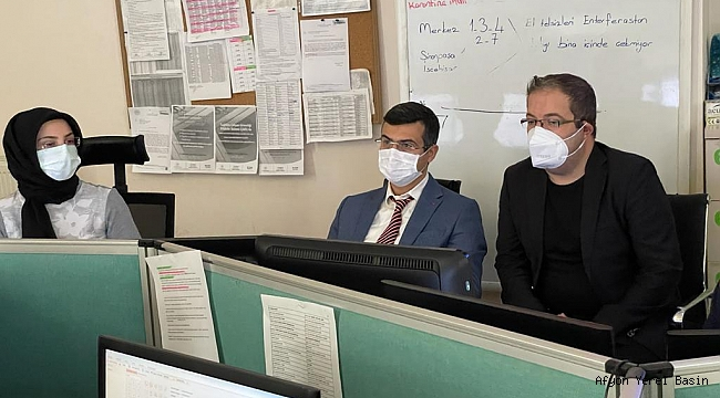 Dr. Serhat Korkmaz, Ziyaretlerine devam ediyor