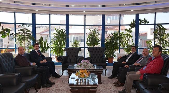 İl Kültür ve Turizm Müdürü Mehmet Tanır Başkan Bozkurt'u ziyaret etti
