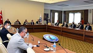 Üniversite Güvenlik Toplantısı Vali Çiçek Başkanlığında Gerçekleştirildi