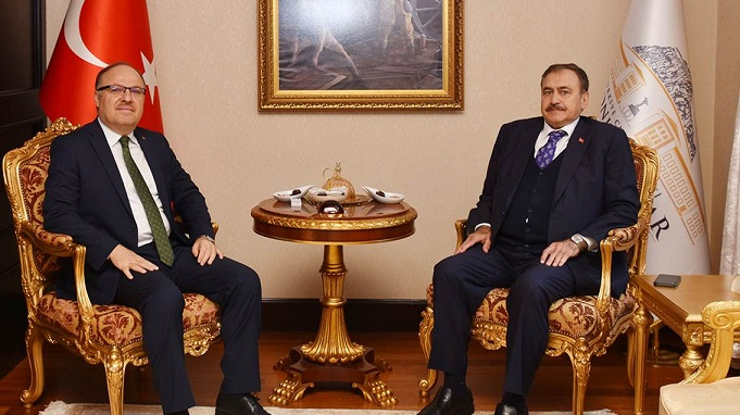 Milletvekilimiz Eroğlu'ndan Vali Tutulmaz'a Ziyaret