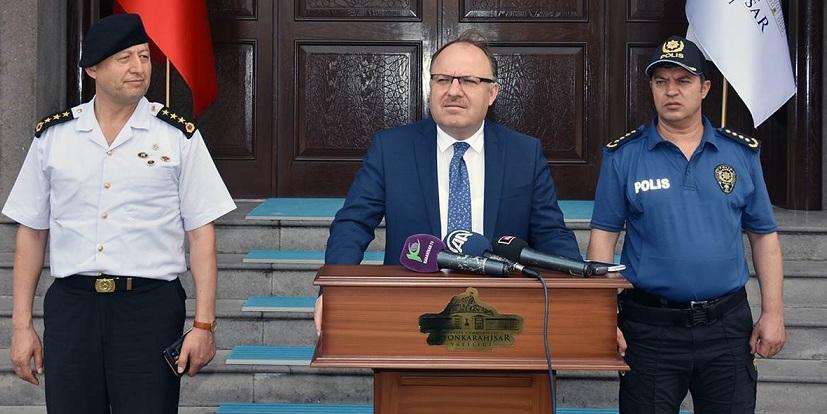 Vali Mustafa Tutulmaz Sel Felaketini Değerlendirdi