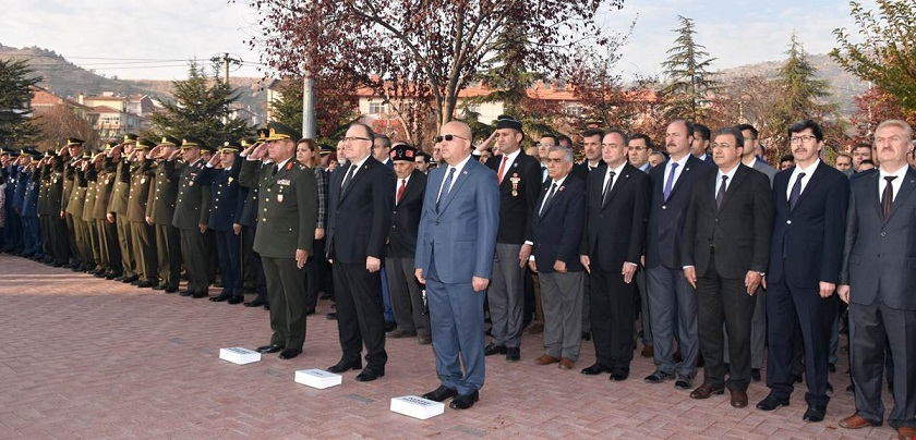 Büyük önder Mustafa Kemal Atatürk Saygı İle Anıldı