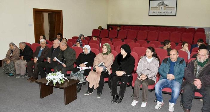 şubat Ayı Halk Toplantısı Vali Tutulmaz'ın Başkanlığında Yapıldı