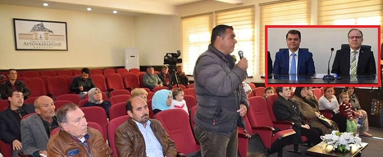 Halk Toplantısı Vali Tutulmaz'ın Başkanlığında Yapıldı.