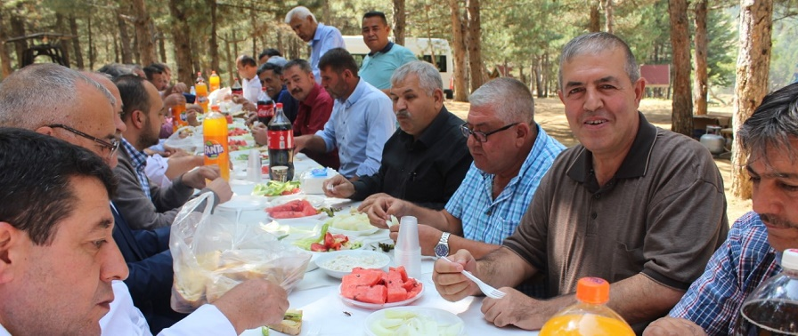 Esob Eylül Toplantısını Doğa Harikası Akdağ'da Yaptı
