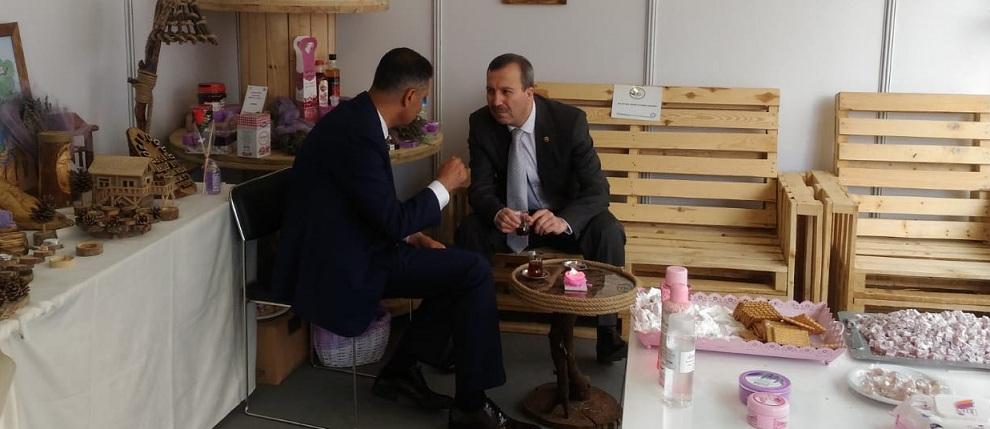 Dinarın ürünleri Ankara Da Sergileniyor