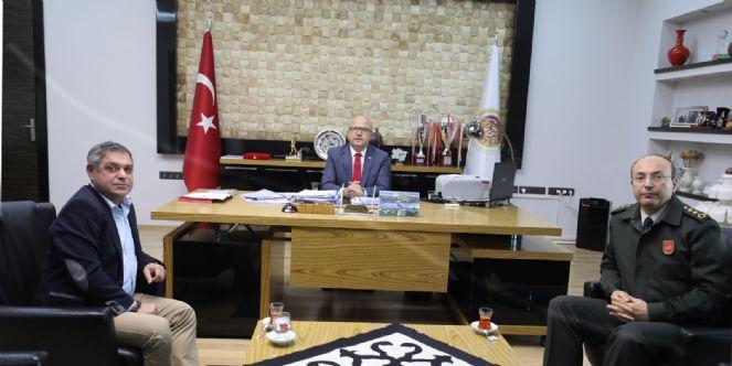 Askeralma Bölge Daire Başkanı Karadayı'dan Ziyaret