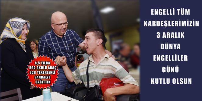 Başkan çoban´dan Dünya Engelliler Günü Mesajı