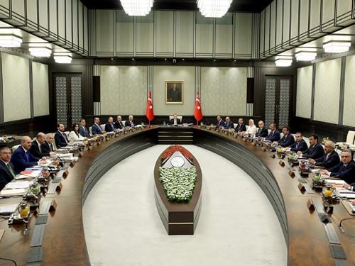 Bakanlar Kurulu Cumhurbaşkanlığı Külliyesinde Toplandı