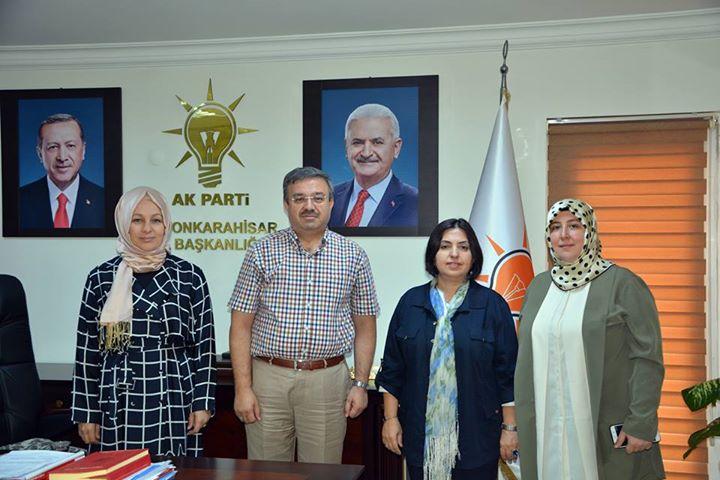 Mkyk üyesi çiğdem Koncagül'den Ak Partiye Ziyaret
