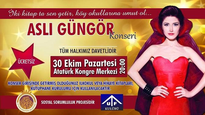Aslı Güngör Koseri Atatürk Kongre Merkezinde