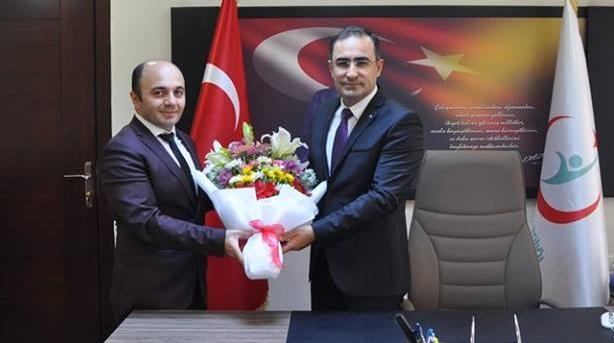Sevilen Doktor Arslan Karaman Sağlık İl Müdürü Oldu