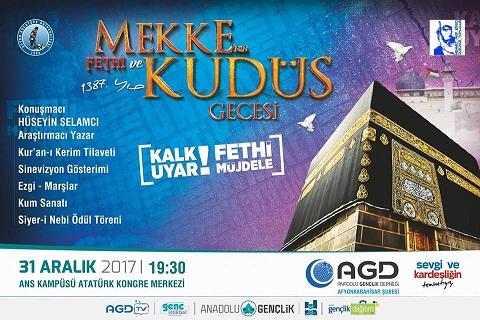Mekke'nin Fethi'nin 1387. Yılı Tüm Türkiyede Coşku İle Kutlanacak.