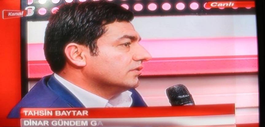 Tahsin Baytar Kanal 3, Mercek Programına Konuk Oldu