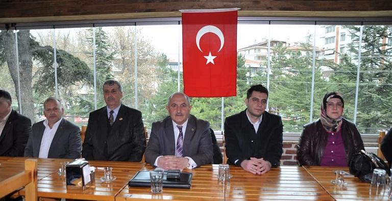 Muhtarlar Derneği Başkanı Mesut Koyun Güven Tazeledi