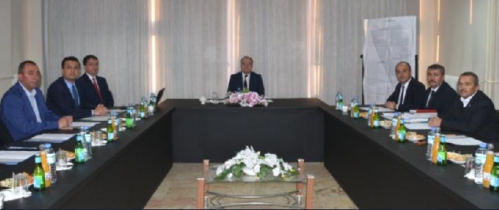 Vali Mustafa Tutulmaz Başkanlığında Toplantı