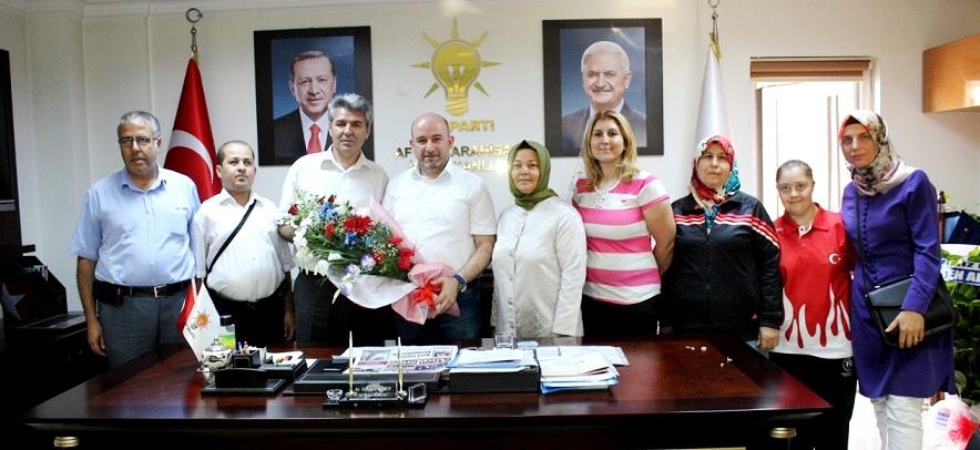 Engelliler Meclisinden Başkan Sezen'e Ziyaret