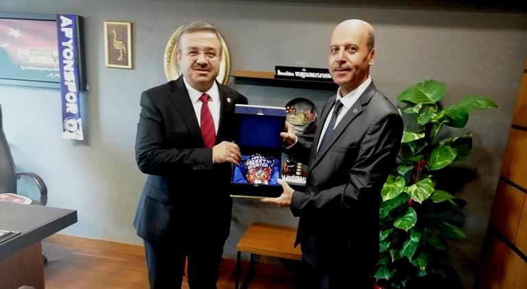 Başkan Bozkurt, Vekil Yurdunuseven'i Ziyaret Etti