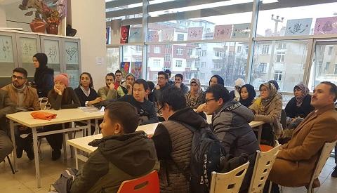 Gençlik Merkezi Tömer öğrencilerini Ağırladı