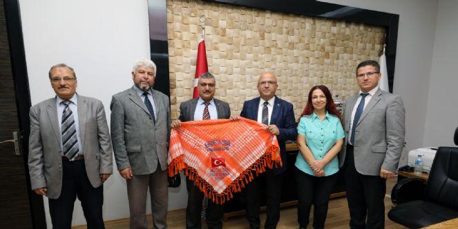 Yörükler Ve Türkmenler Derneği´nden Ziyaret