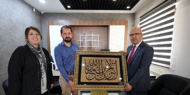 Mimar Süleyman Bayar´a Teşekkür Ziyareti