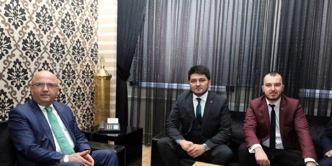 Fatih çetinkaya'dan Başkan çoban'a Ziyaret