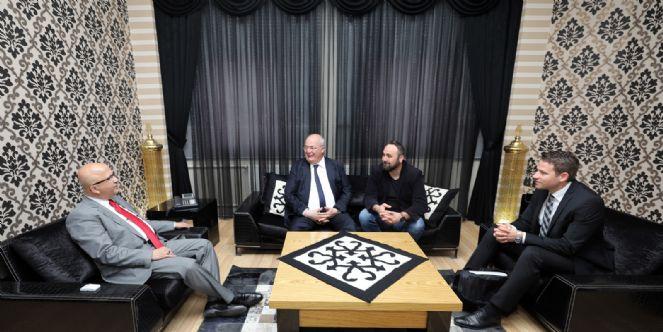 Kardeş şehir Başkanı Petermann'dan Ziyaret