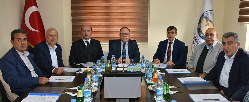 Müteşebbis Heyet Toplantısı Vali Tutulmaz'ın Başkanlığında Yapıldı