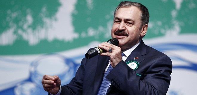 Bakan Eroğlu;