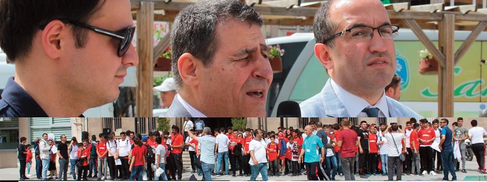 200 öğrenci Türkiye Maçında Antalya'da..