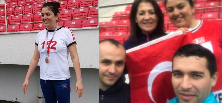 Kübra Saltık Uzun Atlamada Türkiye 1. Oldu..