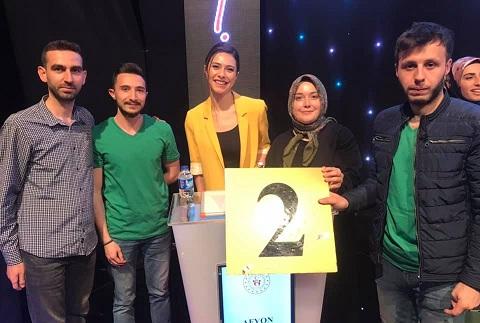 Türkiye Finalinde Afyon'lu Gençler İkinci Oldular