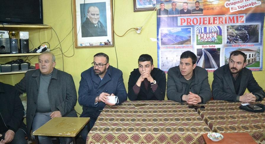 Ak Parti şuhut'tan Ortapınar Ve Senir Köyü Ziyareti