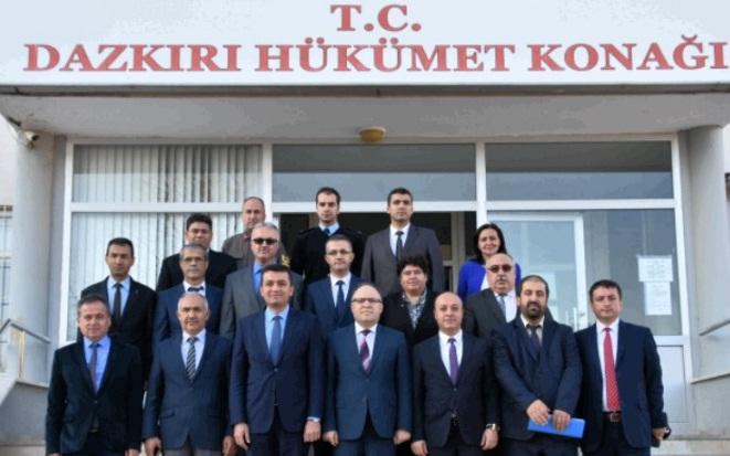 Vali Mustafa Tutulmaz Dazkırı Kaymakamlığına Ziyaret Gerçekleştirdi