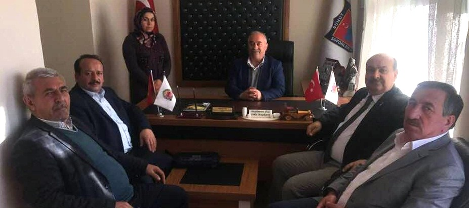 Esob Başkanı Konak'dan Mahmut öz'e Ziyaret