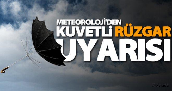 Meteorolojik Uyarı! Kuvvetli Rüzgar Ve Fırtına..