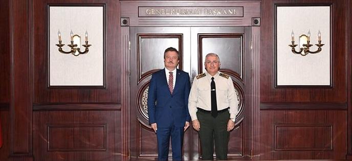 Koçak'tan Genel Kurmay Başkanı Güler'e Ziyaret