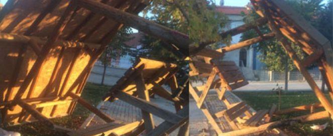 Osmangazi Parkına çirkin Saldırı