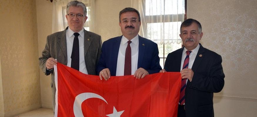 3 Siyasi Partinin İl Başkanları Afrin Operasyonuna Destek Verdiler